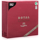 Салфетка 40х40см ROYAL Collection BORDEAUX / 50шт